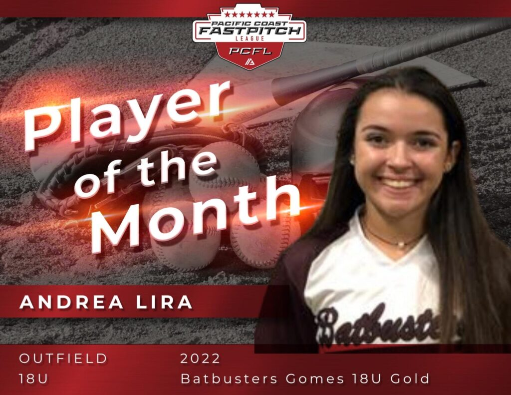 Andrea Lira - PCFL Player of the Month